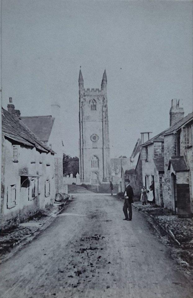 Duke Street, St. Stephens c.1900. Photo by Henry Hayman.