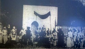 Above the Black Prince is entertained in episode two of the 1931 Launceston Pageant.