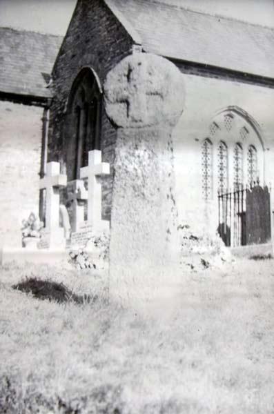 St. Nonna Churchyard, Altarnun in 1937