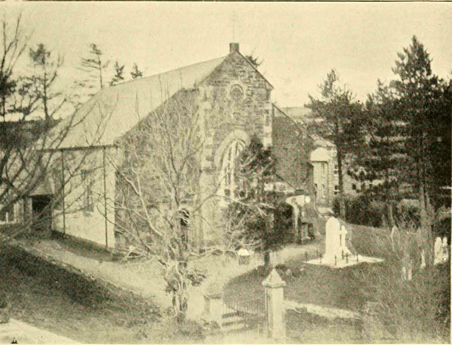 Altarnun Wesleyan Chapel in 1901