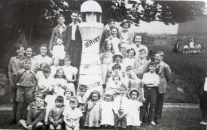 baptist-church-sunday-school-in-1941-display-their-lighthouse-of-service-knowledge-and-consecration