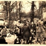 Beating the Bounds 1950's. Photo courtesy of Eric Stacey