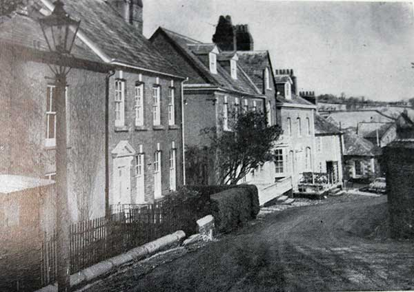 Castle Street looking towards Lawrence House in the 1960's.