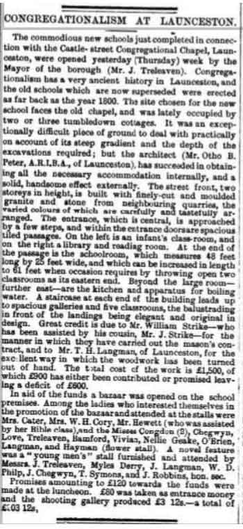congregrationalism-at-launceston-royal-cornwall-gazette-04-july-1884
