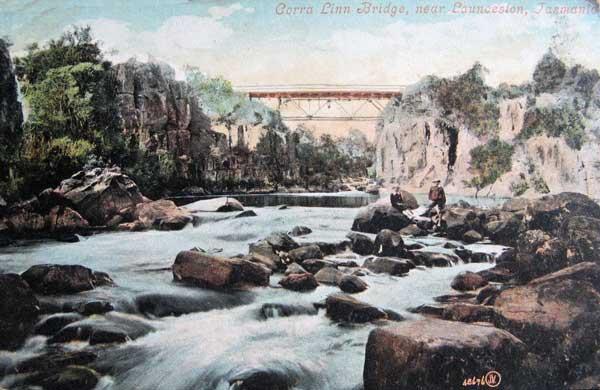 corra-linn-bridge-launceston-tasmania