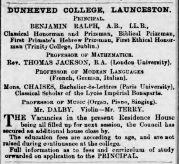 dunheved-college-opening-december-1873