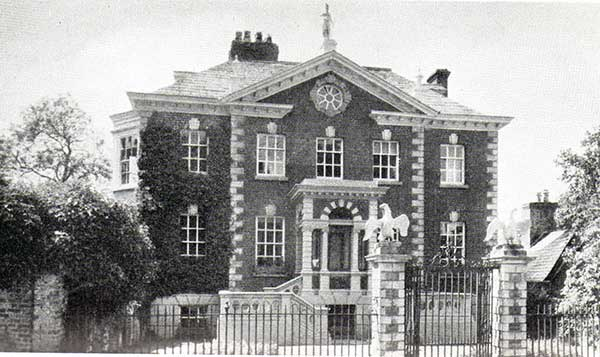 Eagle House, Launceston.