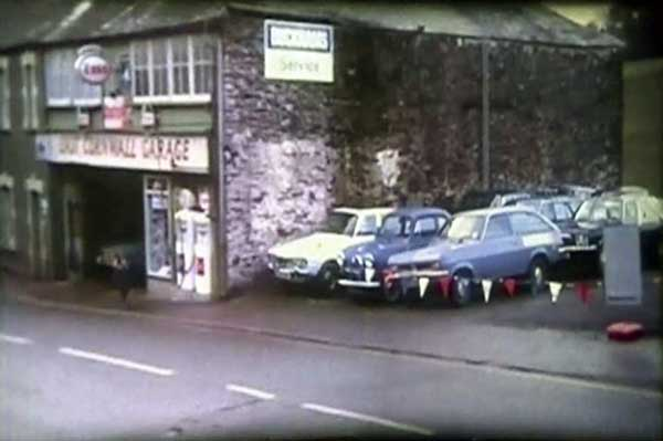 East Cornwall Garage on Western Road in 1973.