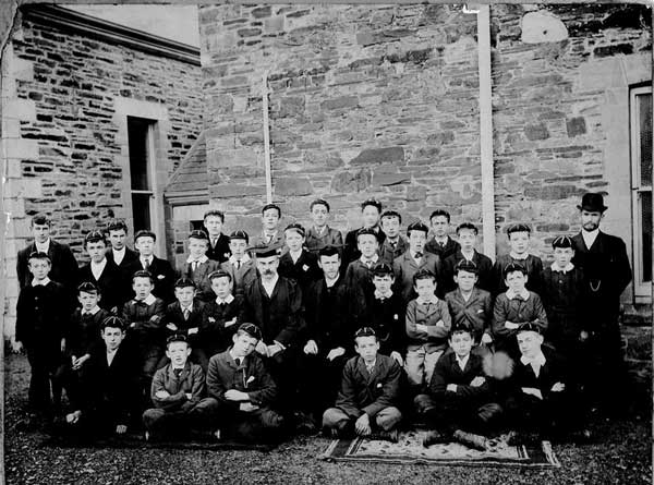 Horwell Boys School c.1901.