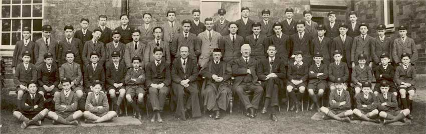 Horwell Boys School c.1920's.