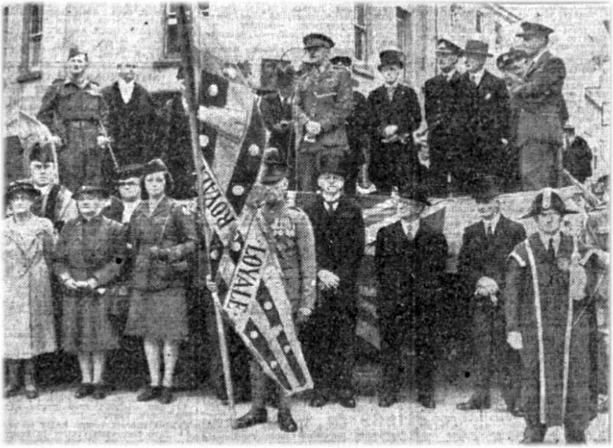 Launceston's Salute the Soldier Week in July 1944 was opened by Brigadier J.W. Pendlebury