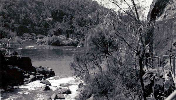 launceston-1st-basin-cataract-gorge-c1952
