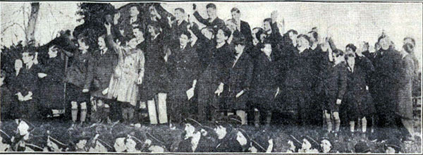 launceston-college-boys-cheering-the-school-minister-december-1931