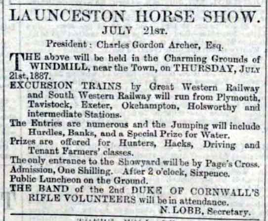 launceston-horse-show-advert-1887