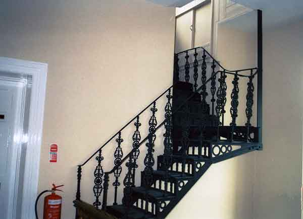 launceston-infirmary-nurses-stairs