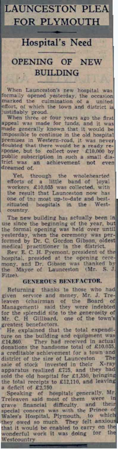 launceston-new-hospital-opening-17th-august-1938-western-morning-news