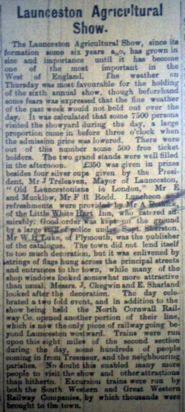 launceston-show-article-from-1892