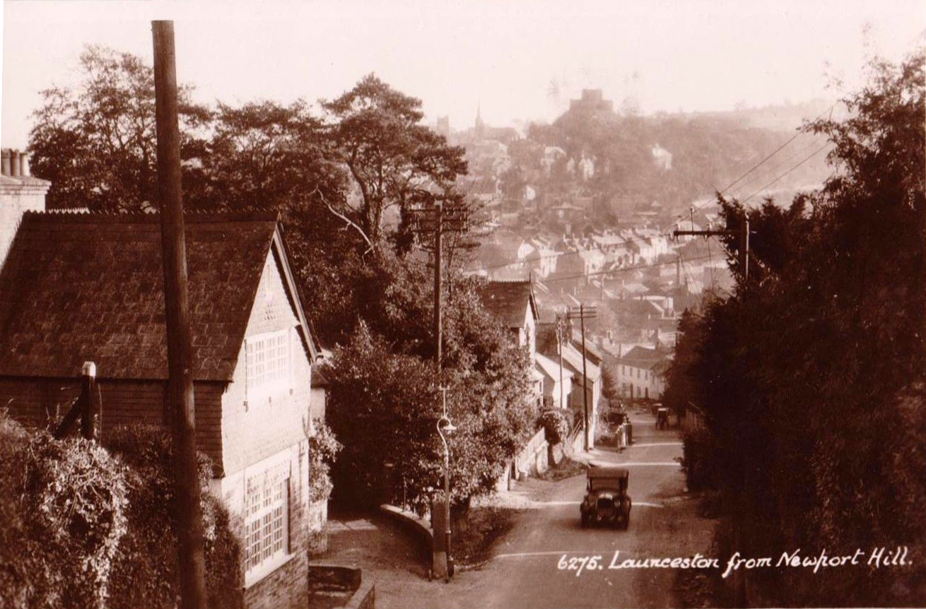 Launceston from St. Stephens Hill in 1925.