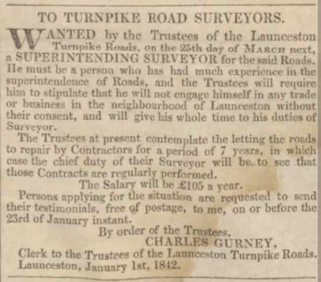 launceston-turnpike-trust-1842