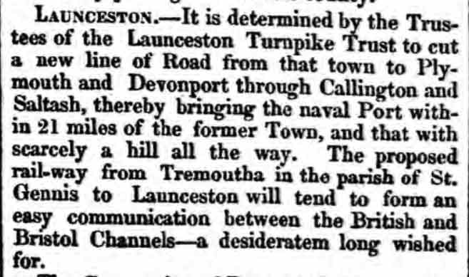 launceston-turnpike-trust-royal-cornwall-gazette-26-february-1836