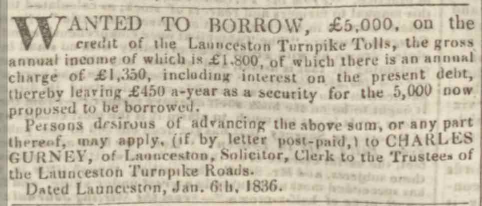 launceston-turnpike-trust-borrowing-1836