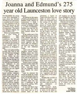 Joanna and Edmund's Love Story
