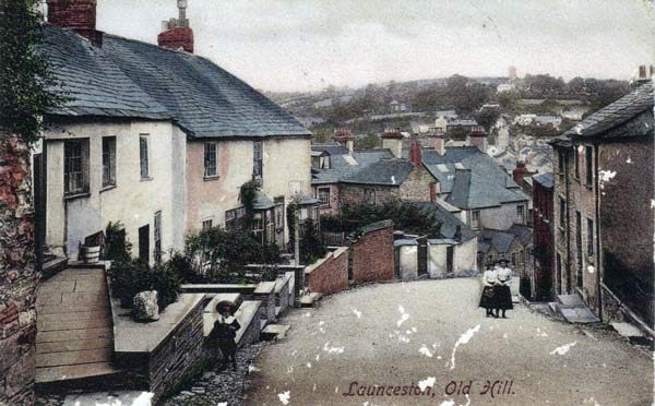 Old Hill (St. Thomas Hill), Launceston in 1909.