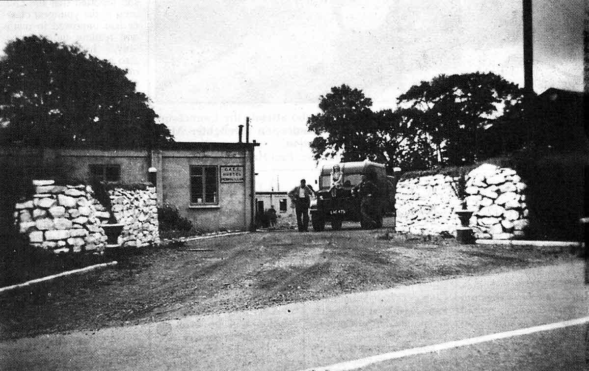 Pennygillam P.O.W. Camp.