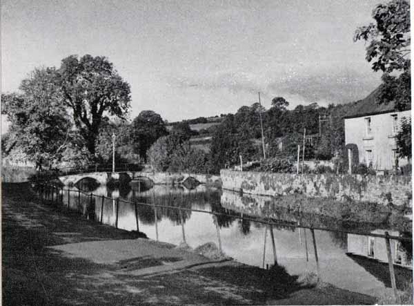 River Kensey and Priors Bridge in 1951.