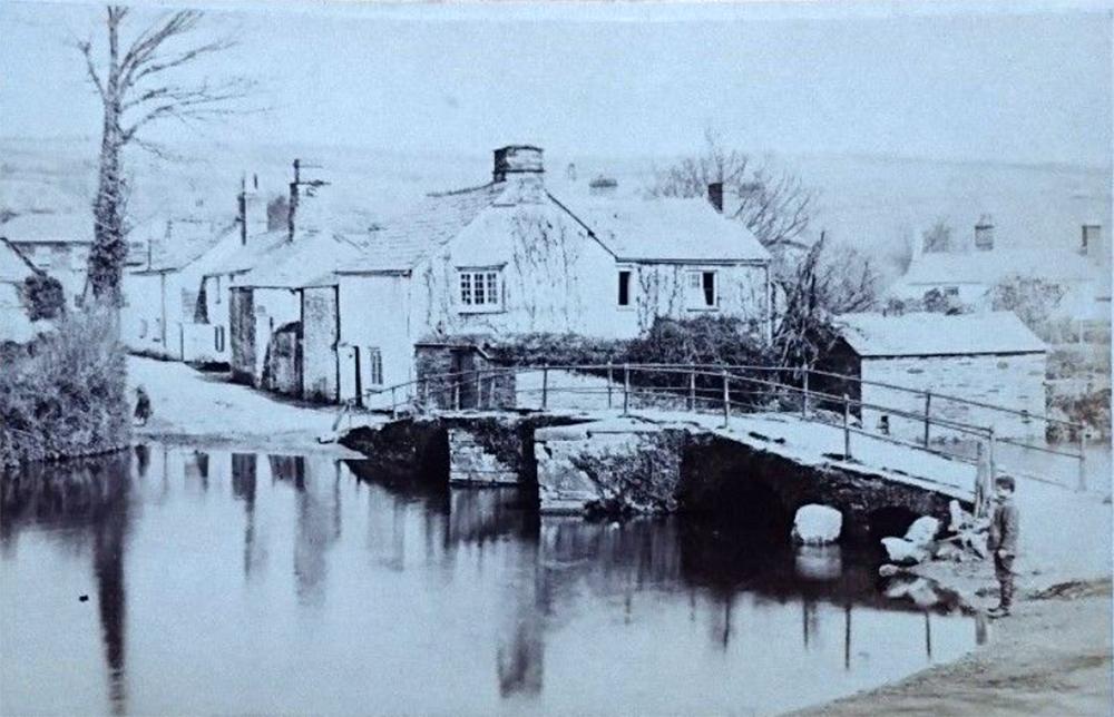 Priors Bridge and Westbridge Road c.1870. Photo by Henry Hayman