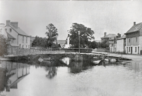 Priors Bridge, Newport, Launceston 1908.
