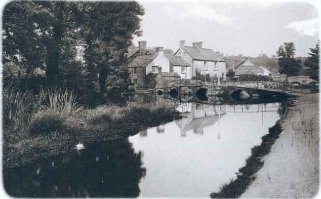 Priors Bridge, Newport, Launceston in 1938.