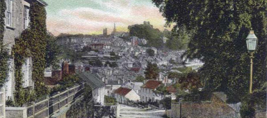 st-stephens-hill-c1910-launceston-cornwall