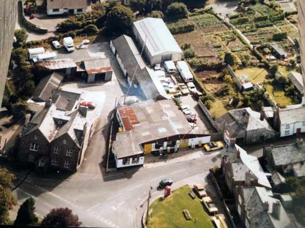 st-stephens-garage-aerial-launceston