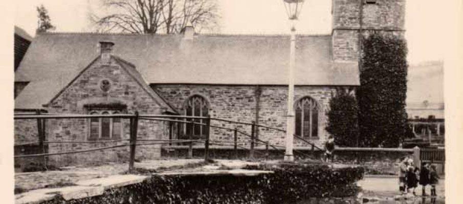 St. Thomas Church, Launceston in the 1920's.