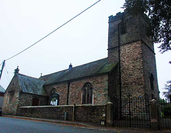 St. Thomas church, Launceston.