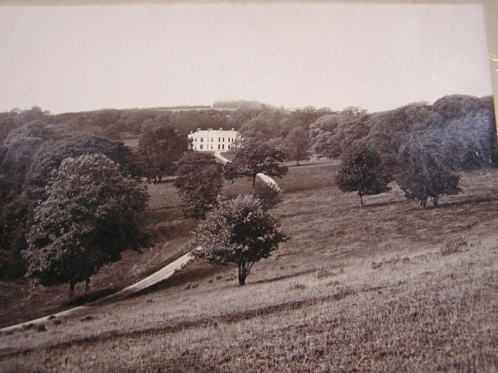 Trelaske House, Lewannick c.1900.
