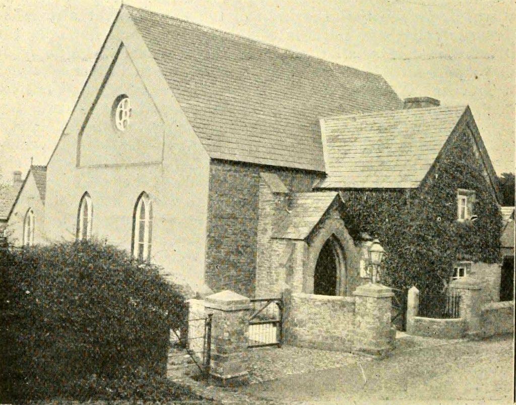 Trevadlock Chapel in 1900
