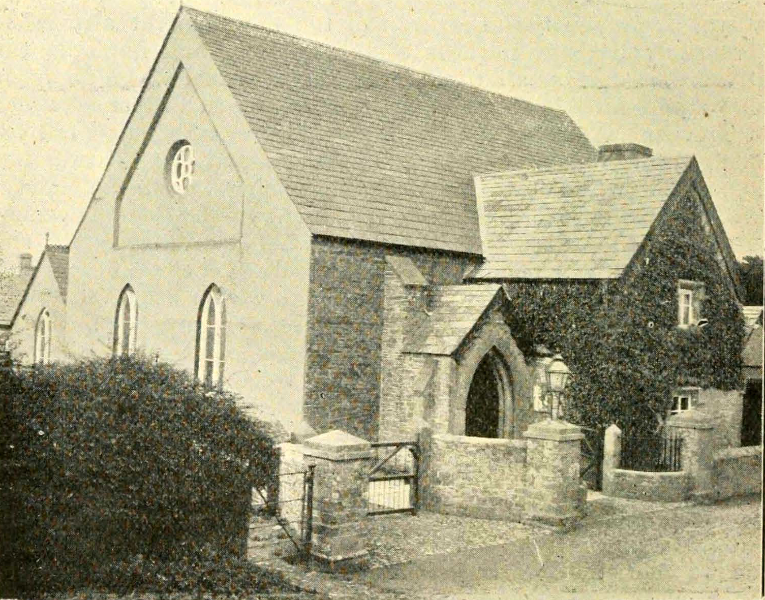Trevadlock Chapel in 1900