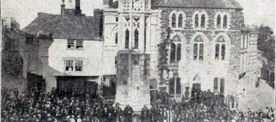 unveiling-of-launceston-war-memorial-oct-1921