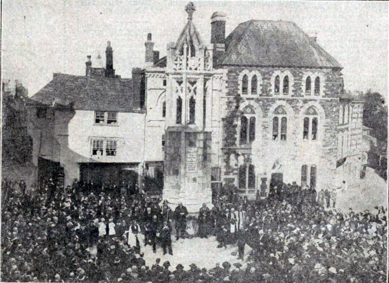 unveiling-of-launceston-war-memorial-oct-1921