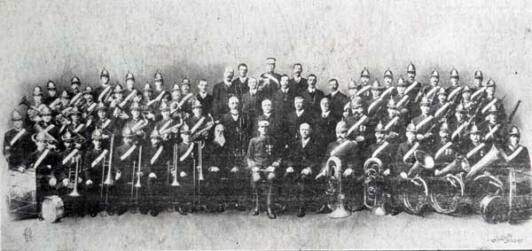 launceston-city-band-in-1900