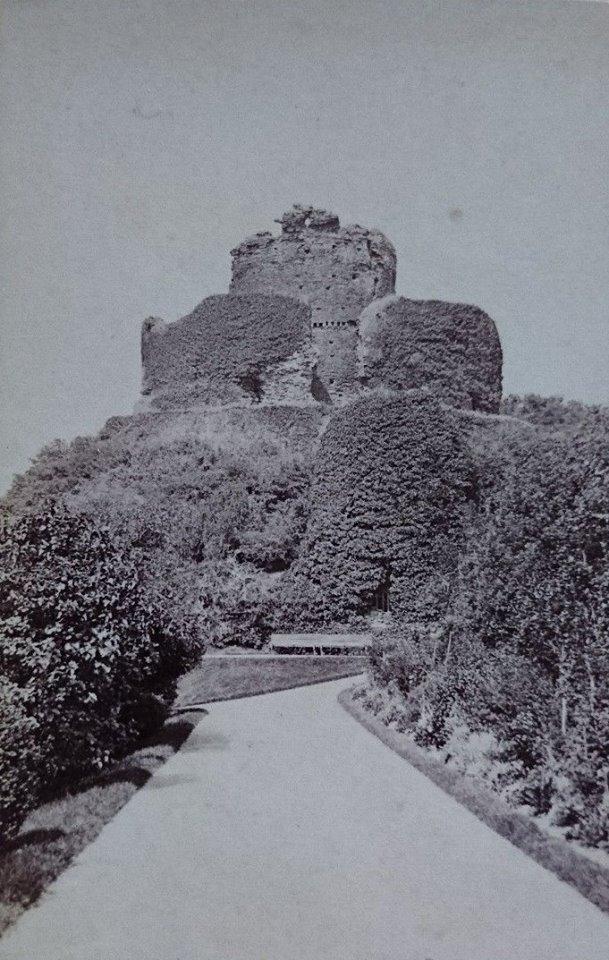 Launceston Castle c.1870. By Henry Hayman