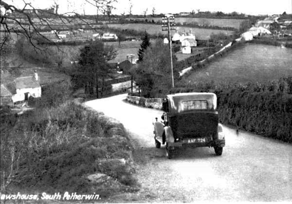 1930s-car-at-south-petherwin