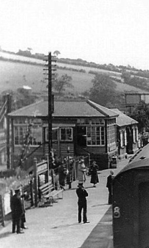 1930's scene at Launceston Station