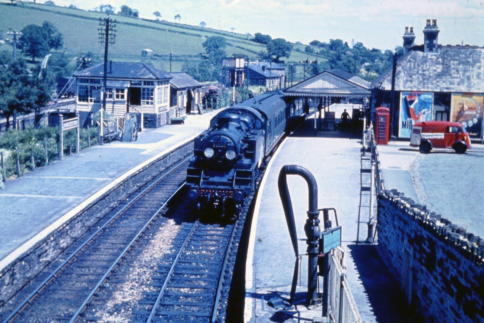 BRS1425 - 82025 at Launceston in 1963