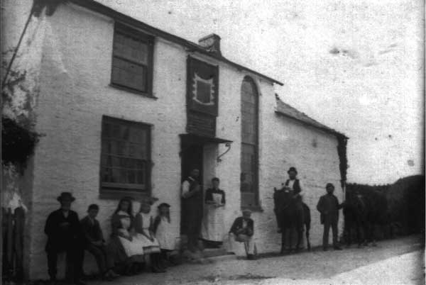 The Bennetts Arms, Lawhitton in 1900.