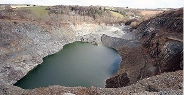 Blackhill Quarry.