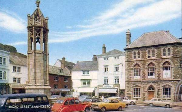 broad-street-launceston-early-1970s