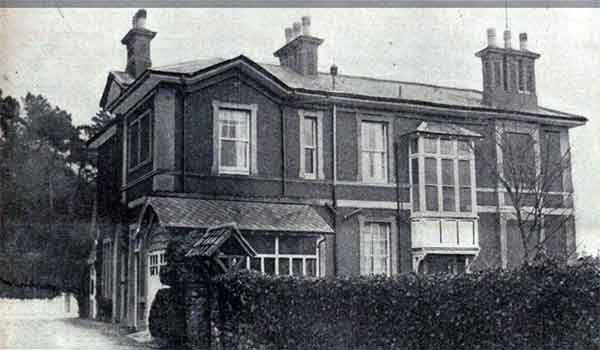 Brooksby House, Torquay where Annie Hearn was working as a Housekeeper to Mr.Powell.